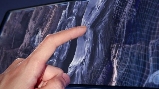 Senseg's technology would allow you to feel textures on a tablet's screen
