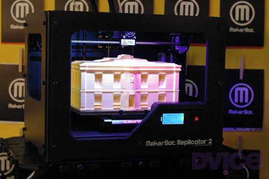 MakerBot shows off next-gen Replicator 2 'desktop' 3D printer
