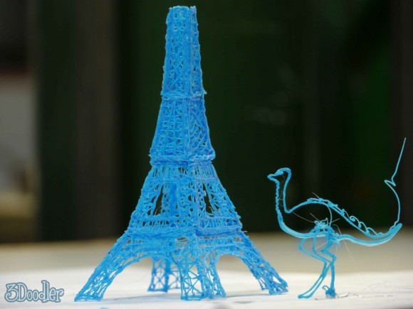 Eiffel Tower and Ostrich