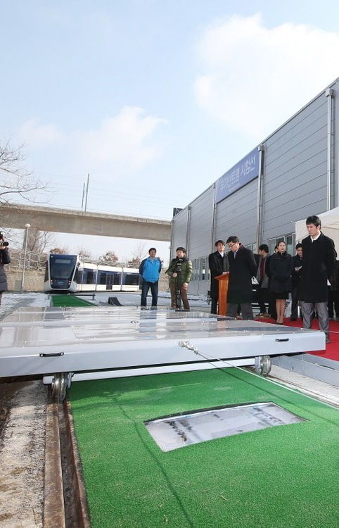 Wireless Electricity Transmission Being Deployed to Power Korean Mass Transit